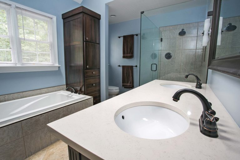 Transitional Bathroom renovation