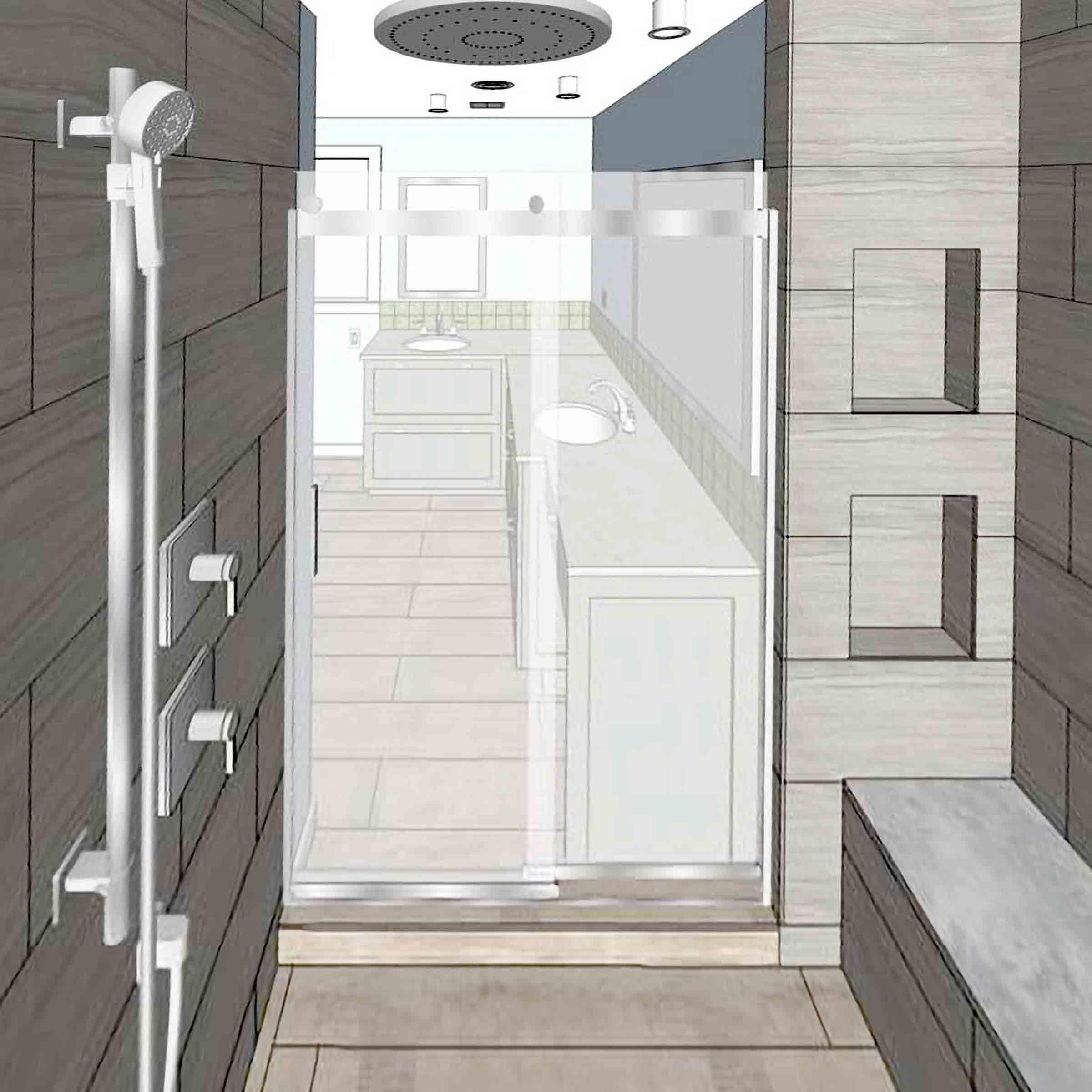Zen Bathroom » Paul Bethel Design