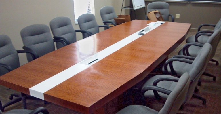 Stripe Conference Table