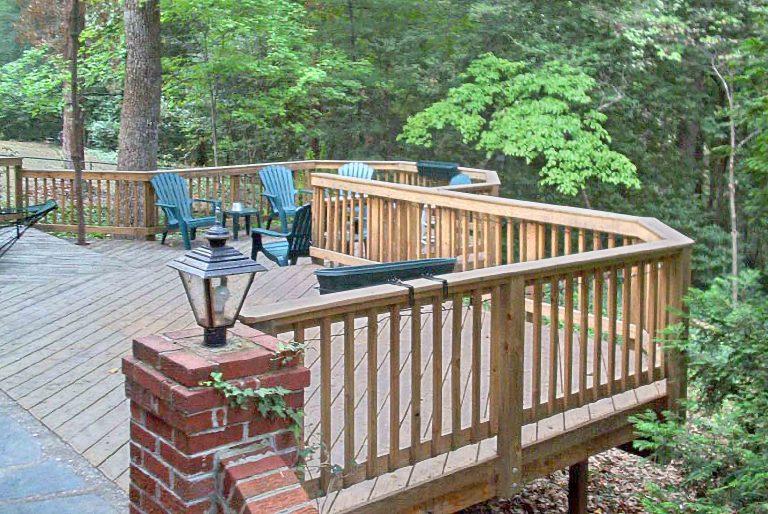 Patio extension deck