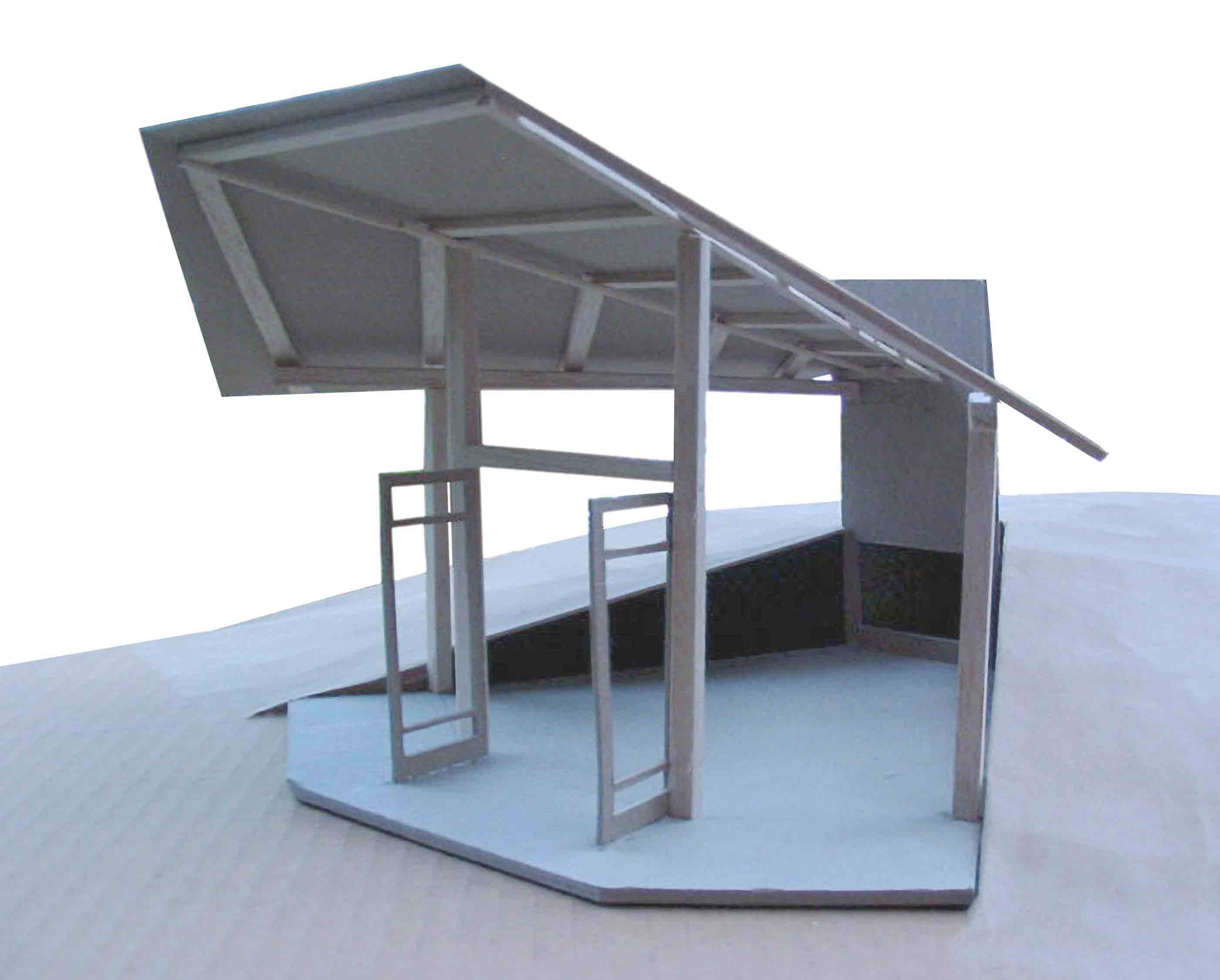 Fireplace Screen Porch model
