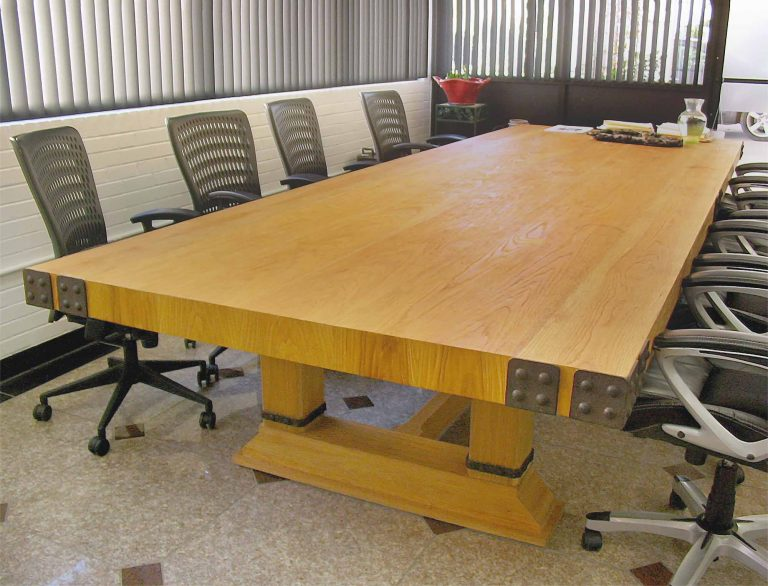Slab Conference Table